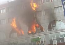 Пожар на рынке в Королеве: загорелся телевизор, а вспыхнули шторы