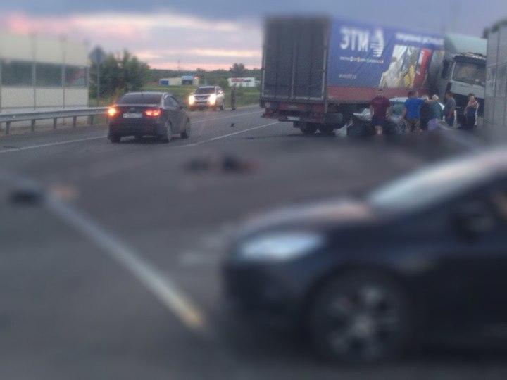 Под Орлом столкнулись иностранная машина  ифура, погибла женщина-водитель