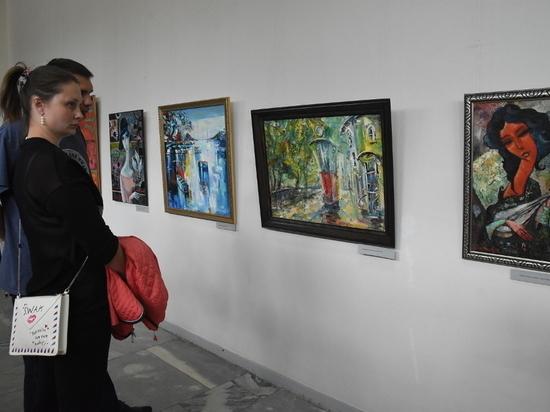 В Курске открылась совместная выставка Сергея Баженова и Олега Радина