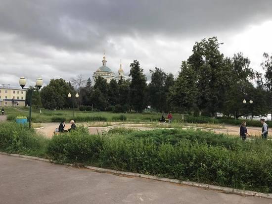 Парки Орла превращаются в неопрятные заросли